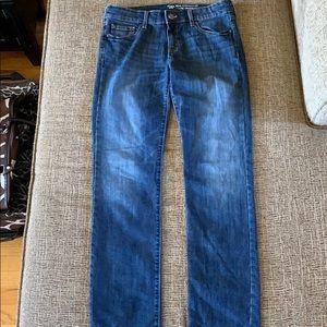 Gap straight leg medium wash jeans